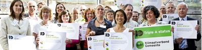 Triple AAA status voor Klimaatstad Breda