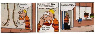Hangen in Dirk-Jan stijl...