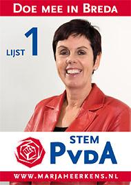 Stem 3 maart PvdA Breda!