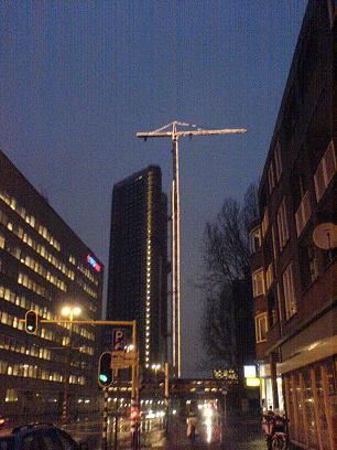 38 verdiepingen hoog!